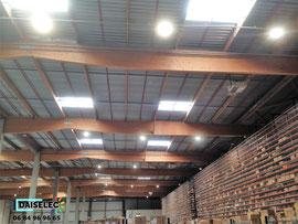 Relamping de 400 W iodure par 150 W LED-Port-St-Louis-du-Rhône-