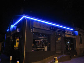 Détourage de commerce en LED néon flexible-Miramas-