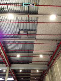Relamping LED entrepôt-Monteux-