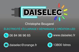 Carte de visite Daiselec Istres