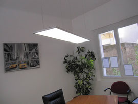 Installation dalle LED suspendue avec variateur-Saint-Martin-De-Crau-