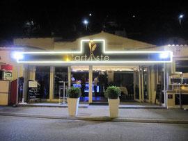 Détourage enseigne restaurant en LED néon flexible-Istres-