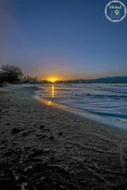 Sonnenuntergang am Sand Hollow State Park