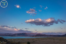 Sonnenuntergang am Lake Mead
