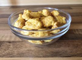 Kekse aus Hühnerbrust