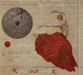 Danse du soleil  -  54 x 60  -  2020