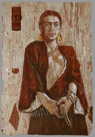 Frida Pistoléro  -  40 x 57,5  -  2021