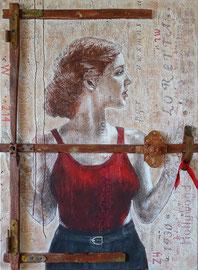 Loretta Young  -  50 x 70  -  2021