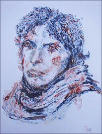 La Bleue  -  50 x 70  -  2009