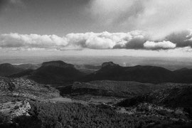 View from Sa Rateta (Serra de Tramuntana, Mallorca, Spain. 2019)
