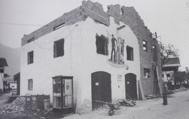 Erweiterung des Feuerwehrgebäudes - 1981