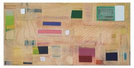 Anne Schreiber 'Canto 5' (E-54) 2018 20x40 cm Öl+Alkydharz auf Holz