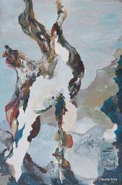 de grote tak, 80x120, Acryl auf Leinwand, 2014