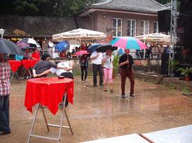 Auch wir können im Regen tanzen