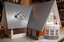 houten voederhuis nestkast villa Soest