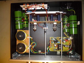 Tube ONE endgültiger Aufbau mit liegender Hauptplatine - J. Pflaum, Ratingen -