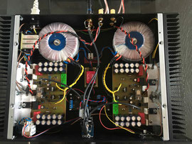 SE 25 Stereo Aufbau mit fernbedienbarem Lautstärke-Poti - S. Oelsner, Augsburg