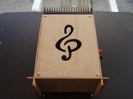 """SE 25 Mono-Aufbau mit """"Notenschlüssel"""" - F. Grammatica, Giussano, Italien -"""