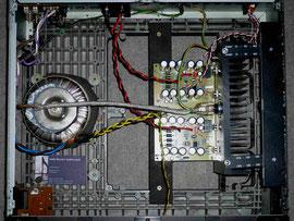 SE 12, Aufbau in einem alten Verstärkergehäuse - J. Amsl, Neuburg -