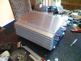 SE 25 Stereo-Aufbau mit eigenen Kühlkörpern - A. Reinert, Mettlach -