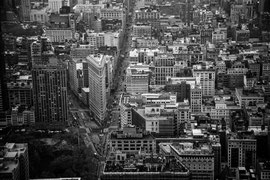 New York - Blick vom Empire State Building