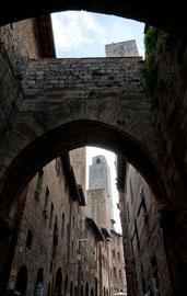 Impressionen Toskana - San Giminano