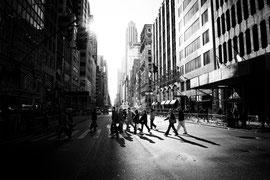 New York - Impressionen Gegenlicht