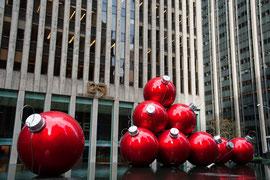 New York - weihnachtlicher Schmuck