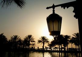 Dubai - Madinat Jumeirah im Abendlicht