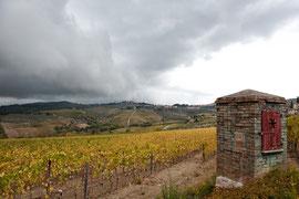 Impressionen Toskana - Gewitterstimmung bei Panzano