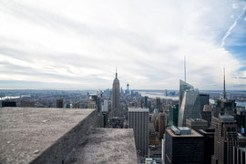 New York - Blick vom Top of the Rock (Rockefeller Center)