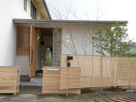 奈良県御所市T様邸 施工直後(2011.04)