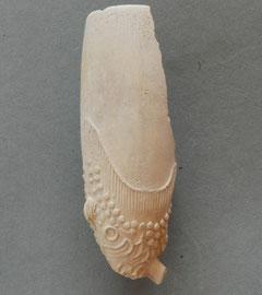 Fragment met grote snoekenbek, waarschijnlijk P. van der Want Gouda