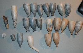 Een bescheiden stort van gekroonde PS en gekroonde 94, gevonden in Gouda