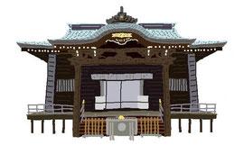 神社 仏閣 史跡 西窪八幡神社