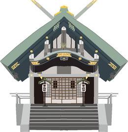 神社 仏閣 史跡 築土神社