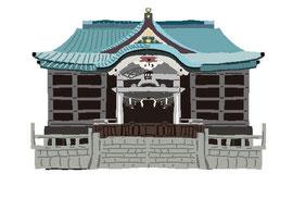神社 仏閣 史跡 猿江神社