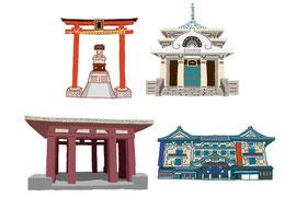 神社 仏閣 史跡 歌舞伎座 お台場神社 浄心寺 殉皇十二烈士女之碑