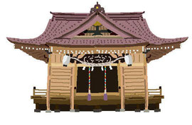 神社 仏閣 史跡 矢向日枝神社