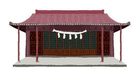 神社 仏閣 史跡 葺城稲荷神社