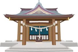 神社 仏閣 史跡 熊谷神社