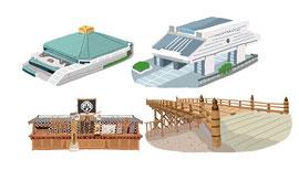 神社 仏閣 史跡 両国国技館 江戸東京博物館