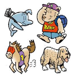 動物 擬人化 キャラクター