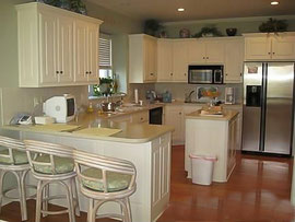 Can U Refinish Painted White Kitchen Cabinets