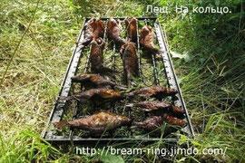 Копченая рыба (лещ-кольцо)