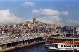 Istanbul, le pont qui a brulé en 1992, Turquie 1991