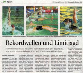 26. Okt. 2010: Tiroler Tageszeitung