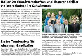 01. Juli 2010: haller Blatt