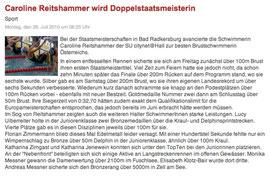 26. Juli 2010: Haller Blatt