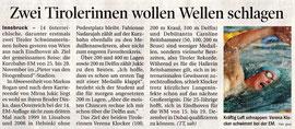 24. Nov. 2010: Tiroler Tagesblatt
